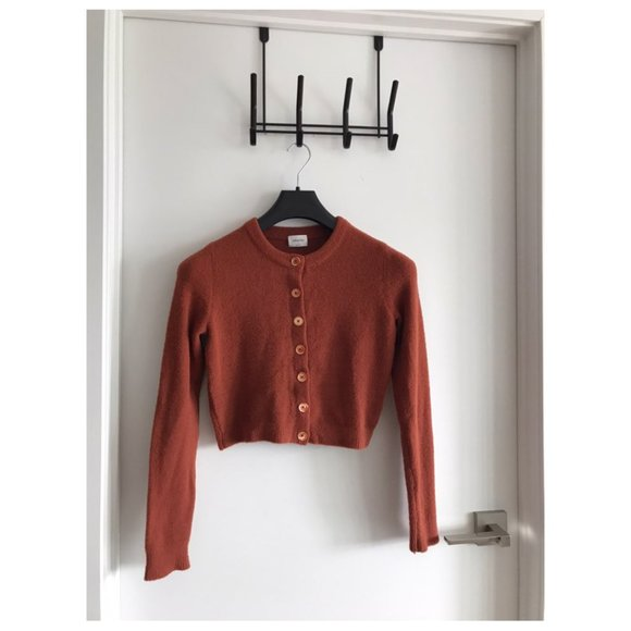 Aritzia Red Longsleeve Cardigan (Brand New) size S